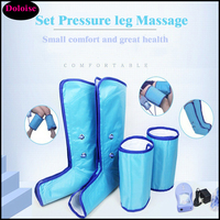 Electric Air Compression Leg Massager Slimming Legs Foot waist Arm Massage Sauna Machine Infrared Ankle Therapy Home Beauty Spa