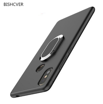 360 Degree Ring Finger Holder Car Magnet Case For iphone 4 4s 5 5s SE 6 6s 7 7s 8 Plus X XS XR XA Max Touch 5 6 Silicon Cover image