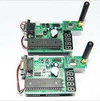 Based on the 51 NRF905 / NRF24L01 development board with wireless module!