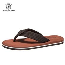 NEEDBO Flat Flip Flops Sandals Casual Men Slippers Shoes Comfortable Summer Beach Sapatos Hembre sapatenis masculino