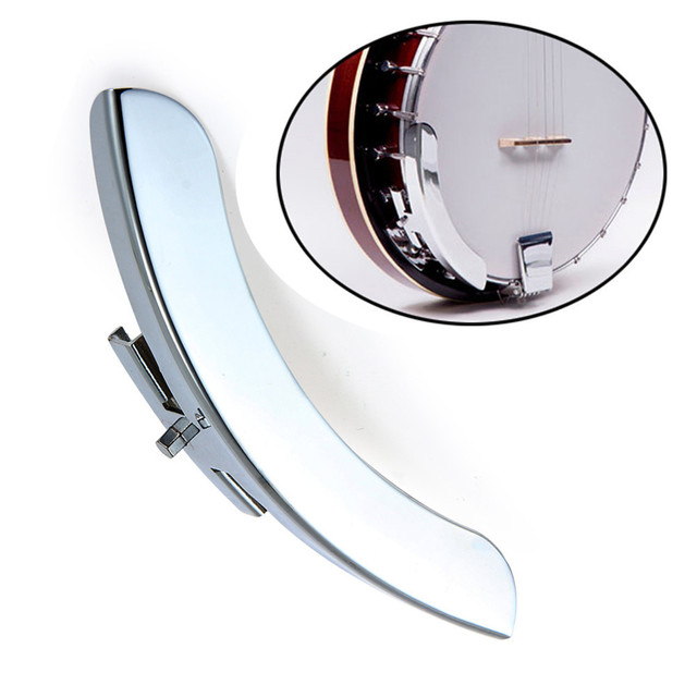 Banjo Arm Rest for repair or replacement Single Leg Banjo Armrest parts  Silver Tone-in Guitar Parts & Accessories from Sports & Entertainment on