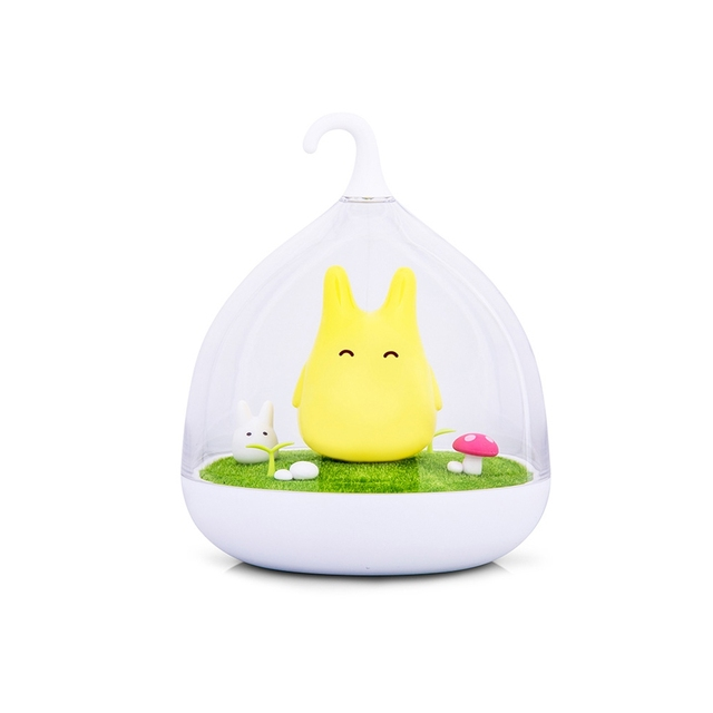 Creative Lovely Birdcage LED Night Light USB Rechargeable Touch Dimmer Table bird light Portable Nightlamp for Children Baby