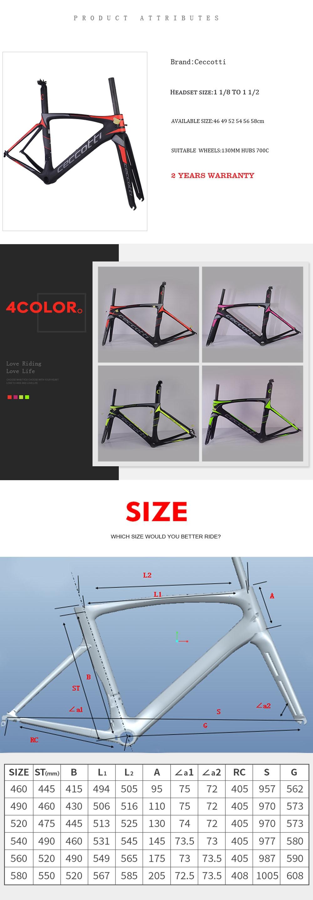 2017 neueste design carbon rennrad rahmen carbon fahrradrahmen teile ...