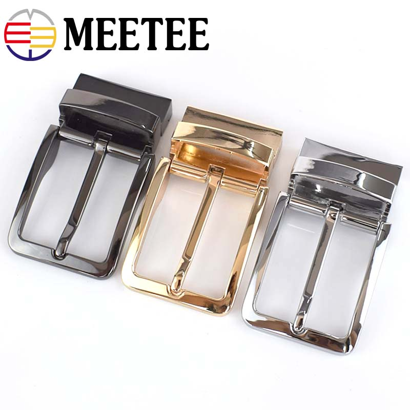1PC Fashion Men Belt Buckles Zinc Alloy Metal Pin Buckle For Belt 33-34mm Belt Head DIY Leather Craft Hardware Accessories