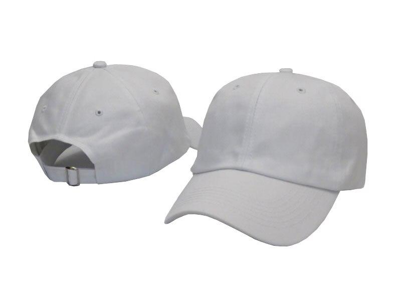 plain white fitted baseball cap cheap caps womens black blue gray green red flat brim blank hip hop women men