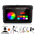 2Din 8 Inch Car DVD Player Android 4Core For VW/Volkswagen/Passat/POLO/GOLF/Skoda/Seat/Leon With GPS Navigaiton IPOD FM RDS Maps