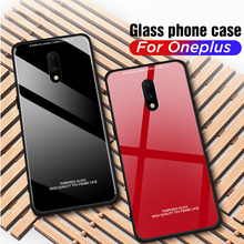 For Oneplus 7 Pro Back Case Cover One Plus 7 Pro Tempered Glass Case Phone Case For Oneplus 7Pro Ultra Thin Full Protective Capa