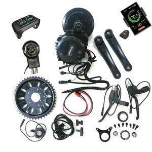 Image 1 - Bafang 8Fun BBSHD Motor Central de tracción media 48V 1000W Kits de Ebike con conectores de Sensor de luz y engranaje, luz de 6V incluida