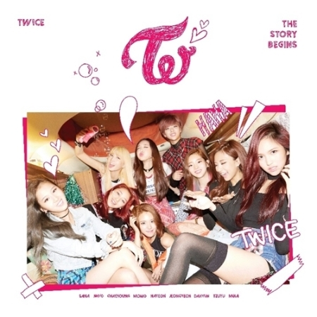TWICE THE 1ST MINI ALBUM - THE STORY BEGINS  + Booklet +Garland +random photocards Release Date  2015-10-20 KPOP bigbang taeyang new album rise booklet 48p sticker release date 2014 06 09 kpop