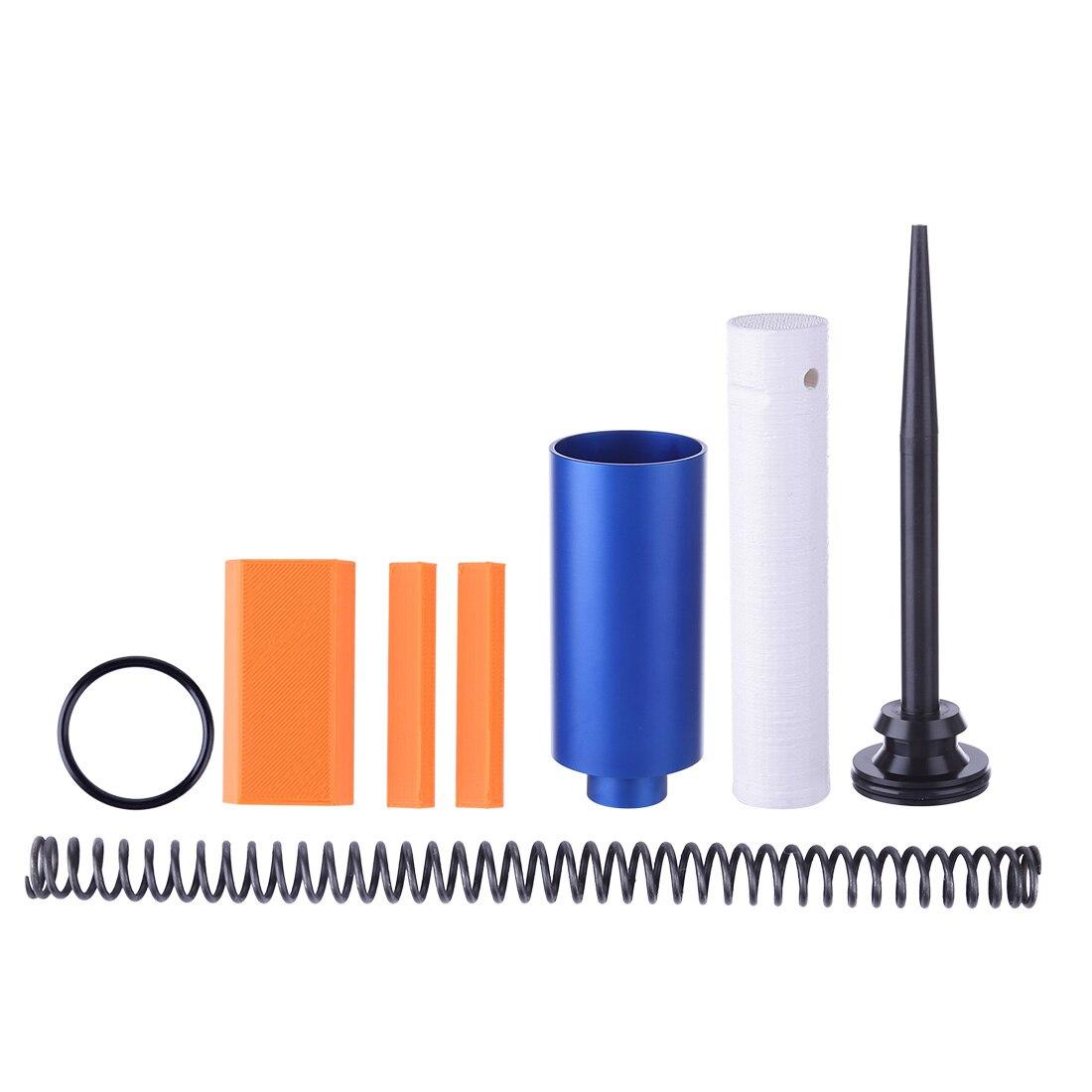 Grand cylindre en métal + 16KG ressort + Kit de tige de poussée de cylindre pour accessoires de Kit modifié extérieur de jouet de rétorsion de Nerf