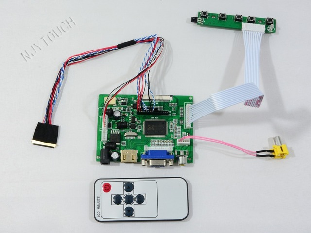 """HDMI VGA AV Дистанционного ЖК плате Контроллера для LP156WH4 TLA1 15.6 """"LP156WH4 (TL) (A1) СВЕТОДИОДНЫЙ Экран 1366x768 LVDS 40 pins Бесплатная Доставка"""