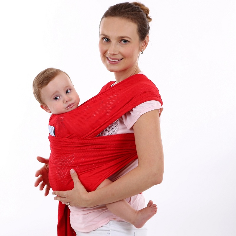 Aliexpress Com Buy Net Cloth Newborn Venting Infant Wrap Carrier