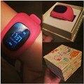 2017 kid smart watch q50 gps localização chamada sos seguro relógio de pulso Monitor de Relógio rastreador para o Miúdo Criança Anti Perdido Bebê PK Q60 Q80