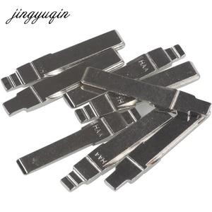 jingyuqin 2pcs/lot HAA Flip Remote Car Key Blanks For AUDI Fit VW PASSAT BORA SEAT SKODA #31 HU66 Key Blade