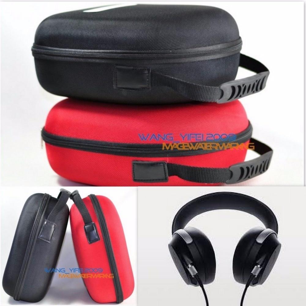 Dur De Stockage Box Case Voyage Sac Pour SONY MDR Z7 MDR-1A 1 ADAC 1ABT Casque Casque Noir Rouge Couleur Choisir