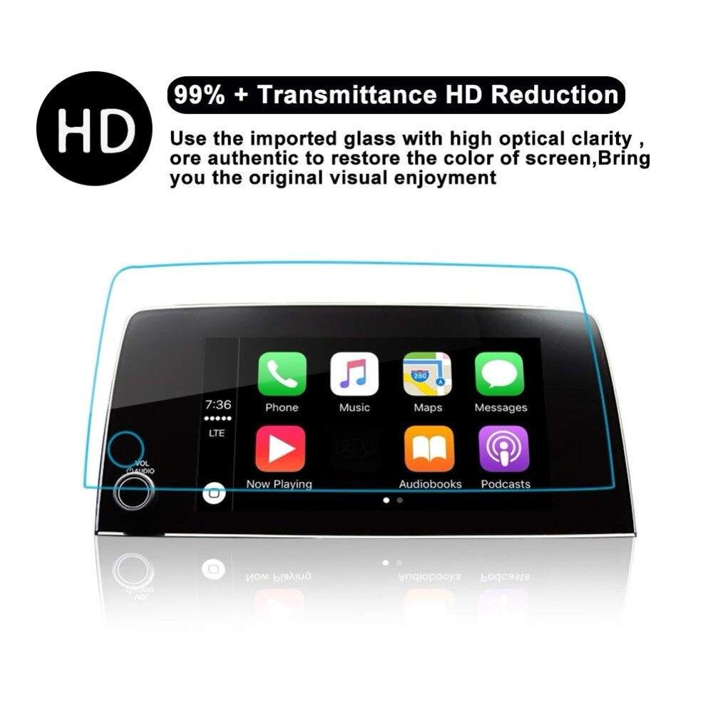 7 Inch Car GPS Navigation Protective Film For Honda CRV CR-V 2017 2018  Car Screen Film Tempered Glass Screen Protector Stel