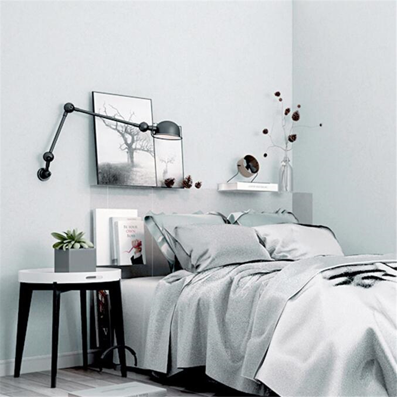 Beibehang solid wallpaper modern minimalist plain living - Solid light gray wallpaper ...