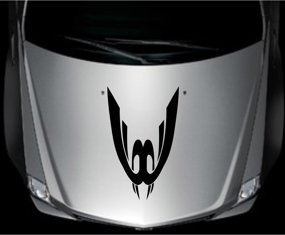 Car decal designer online - Car Truck Decal Vinyl Graphics Stickers Hood Decals Tribal Racing Design Cg63 China