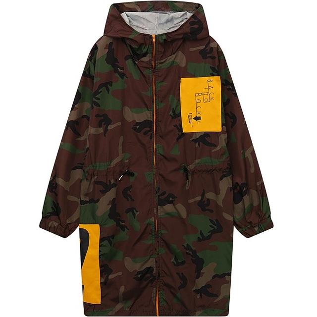 71bd51735f3 Camouflage Army Jacket Women 2016 Summer Plus Size Lightweight Hooded  Longline Parka Coats Woman Fashion Oversized Outerwear Top
