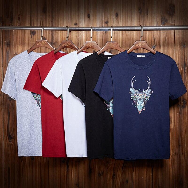 Big men/'s t-shirt blue dragon design decal tee plus size tall 4X 5X 6X 7X 10X