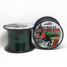 New 500m Strong 8Strand Braided Fishing Line Strong PE Sea Saltwater Line Multifilament For Fishing Weave