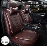 For Mazda 3 6 Mazda Cx 5 Orange Brown Red Beige Brand Designer Luxury Pu Leather