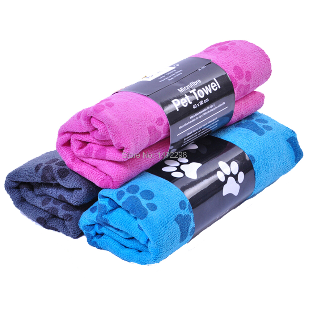 Generic Pet Dog Cat Hair Grooming Magic Dry Absorbent Towel Car Wash Towel Multifunction 3 color