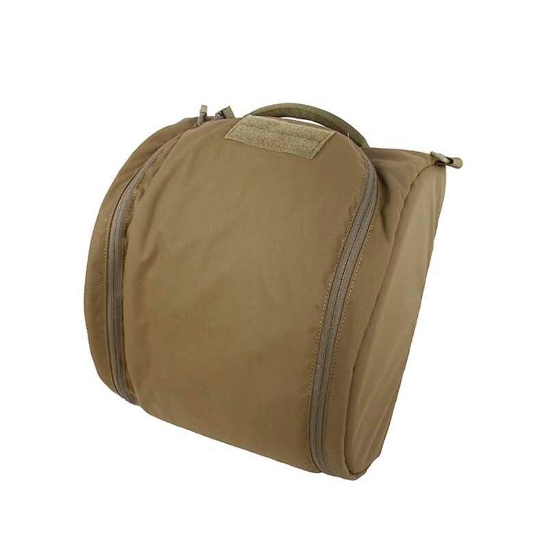 Novo tmc airsoft capacete tático saco de