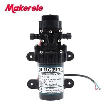 цена на FL-2202 12V DC Mini Submersible water Pumps Diaphragm Pump Diaphragm Vacuum Pump 20m lift Free Shipping