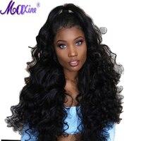 Синтетические волосы на кружеве человеческих волос парики свободные волна плотности 180% 360 Синтетические волосы на кружеве al парик предвари