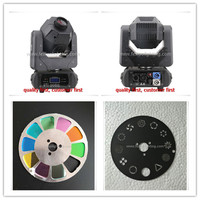 4pcs 60w Led Moving Head Gobo Light Led DMX 512 Control Mini 60w Dj Diso Moving