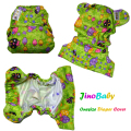 JinoBaby Cloth Diaper Cover Reusable Baby Diapers Covers One Size Fits All nb to 30+ pounds