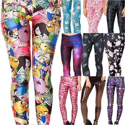 Women's 3D Print Leggings