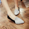 Lazy Shoes Mid Heels Women Shoes Bling  Mid Heel Large Size Summer Shoes Neutral  Casual Sandals Custom Shoes For Women