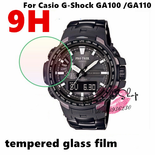 1a3c844dc337f 3pcs lot Tempered Glass Screen Protector Guard Skin Film For Casio G-shock  GA-110 ga-100 GA100 GA110 Phone protective film