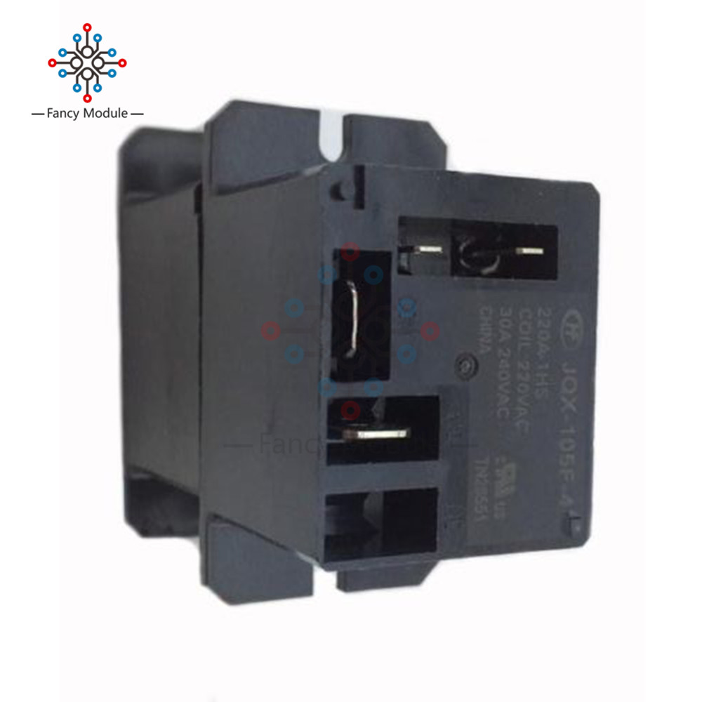 JQX-105F-4-220V-1HS Relay Air Condition Relay AC 220V 30A HF105F 4 Pin hot new relay jqx 105f 4 220a 1hst 220vac jqx 105f 4 220a 1hst hf105f 4 220a 1hst 220vac ac220v 30a 240vac dip4 10pcs lot