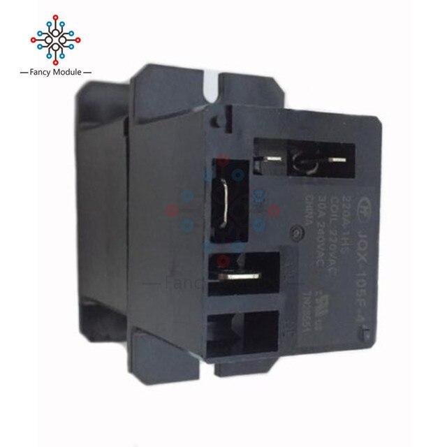 JQX-105F-4-220V-1HS Relay Air Condition Relay AC 220V 30A HF105F 4 Pin