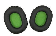 1 Par Preto com Verde Tampa de Substituição Ear Pads Almofada para Turtle Beach XO7 FORCE Recon 50 Fones De Ouvido