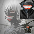 1Pc Tokyo Ghoul Cosplay Kaneki Ken Mask Adjustable Belt Halloween Party Prop Anime Mask