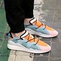Новый Мужчины любовника обувь Повседневная zapatos mujer Обувь Плоским человек кроссовки Воздухопроницаемой Сеткой обувь Y3 обувь Корзина Femme