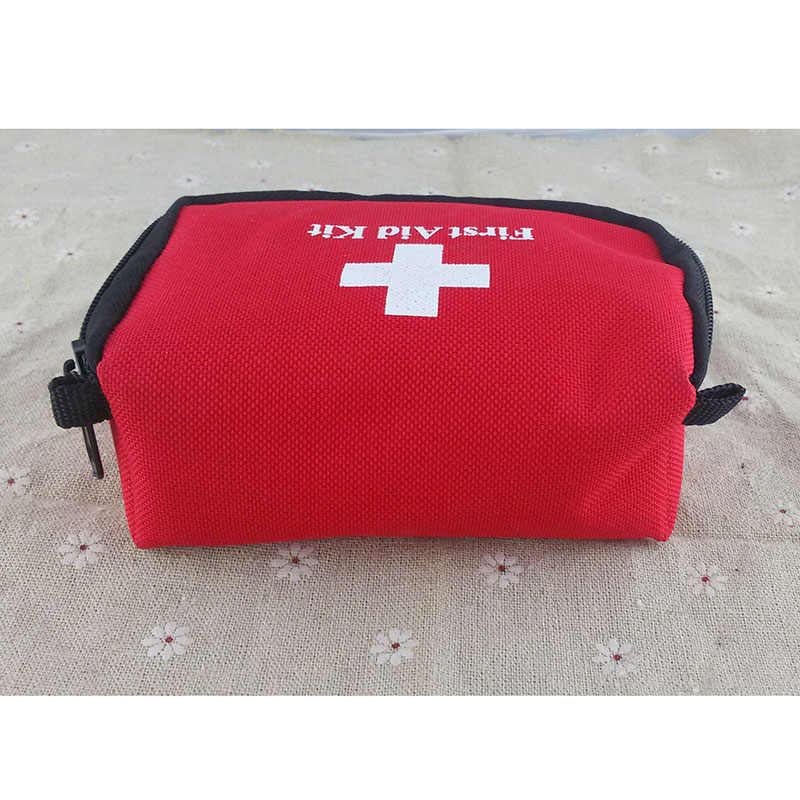 Newly First Aid Kit Rescue Bag Survival Emergency Treatment Mini For Outdoor Hiking Camping