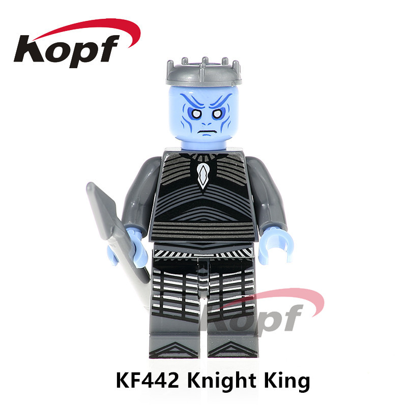 Single Sale Game of Thrones Knight King Jaime Lannister Barristan Selmy Ice and Fire Series Building Blocks Children Toys KF442 2017 new game of thrones song of ice and fire hand of king imp keychain for car toys lannister hand of queen necklace toys