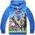 2015 de Alta Qualidade Outono Crianças Meninos Mundo Jurássico Dinossauro Hoodies Jaqueta Moletom Com Capuz Camisa de Manga Longa Tops Tees Camisolas Outwear