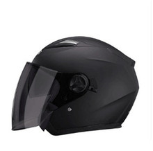 2018 nova lente Dupla Capacete. a mais nova e mais bonita do capacete. lente dupla Face Aberta capacete da motocicleta