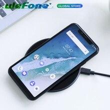Оригинальное Беспроводное зарядное устройство Ulefone UF002, 10 Вт, 5 В/9 в, 2 А выход для iPhone Xs Max, для Samsung, быстрое зарядное устройство Qi, беспроводное зарядное устройство