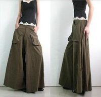 2013 Women 2013 Woman Plus Size Trousers Gentle Ladies Skinny Casual Skirt Culottes Fat Leg Baggy