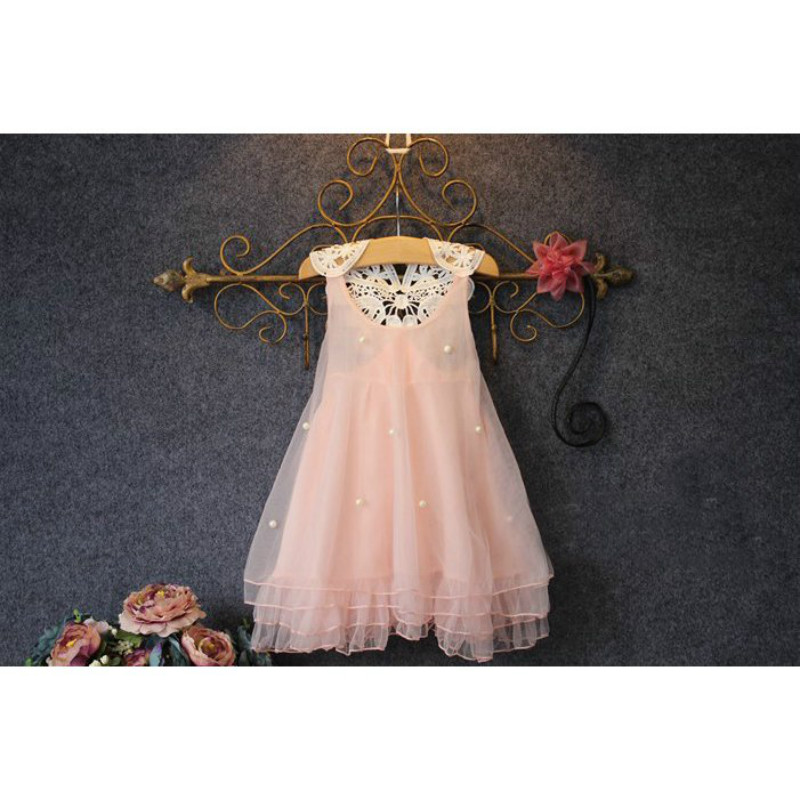 Fashion kids clothes Flower Girl Spring Summer Princess Dress Kid Baby FormalParty Wedding Lace Tulle Tutu Dresses 3