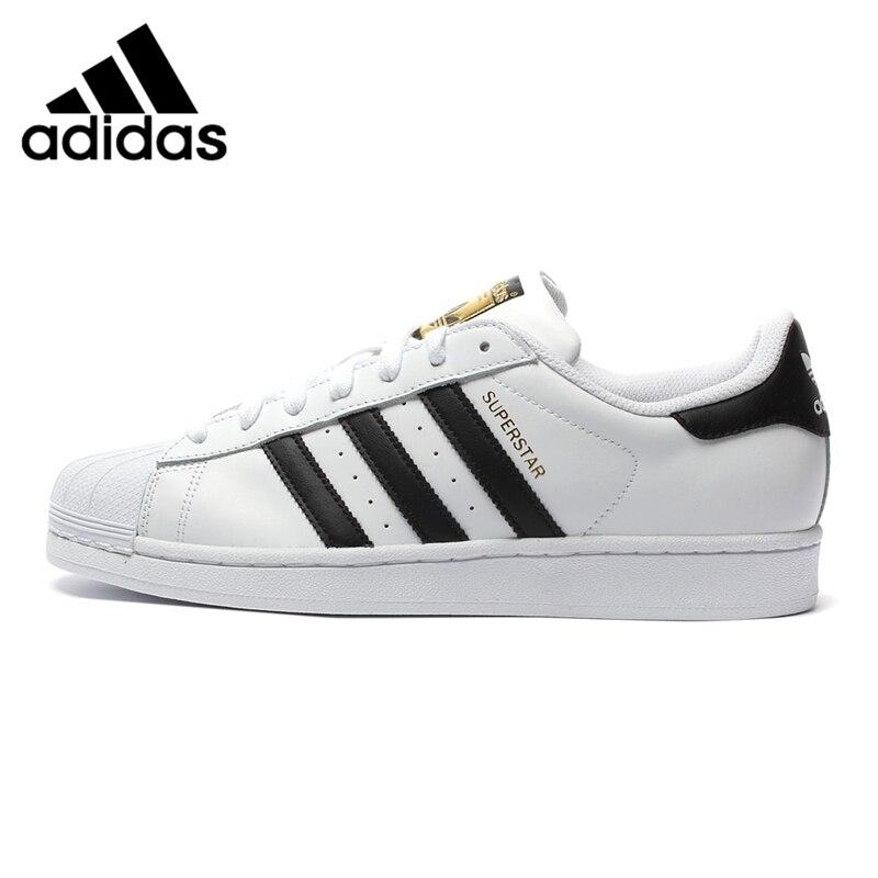 Оригинальный Новое поступление 2018 Adidas Originals Superstar классика Unsiex обувь для скейтбординга кроссовки