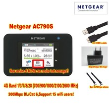 Unlocked Netgear Aircard 790s AC790S 300Mbps 4G Mobile Hotspot wifi Router Plus A pair antenna