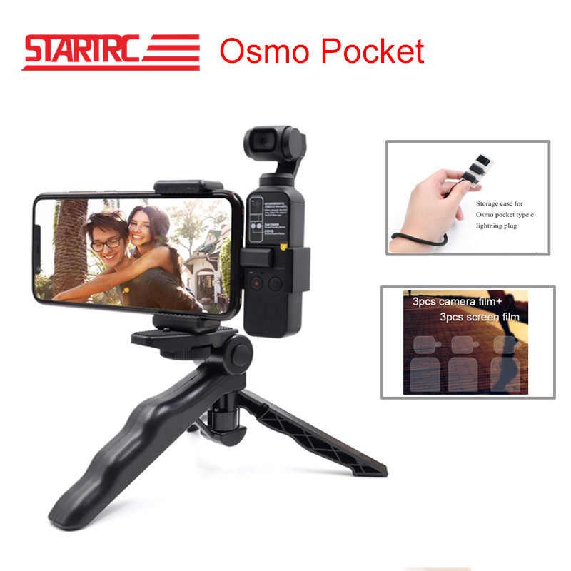Startrc Osmo Acessórios Suporte Do Telefone Móvel de Bolso Conjunto Fixo Bracket Suporte de Montagem para Dji Osmo Câmeras de Bolso Handheld
